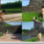 [モ無]<Vol.01309>[ロ出おさんぽpart3]ここまで堂々と人前でスッポンポンになれる勇気に脱帽 汗 めちゃくちゃ大勢の人がいる湖畔で全裸散歩だぜ?よく捕まらないな、これwww 露出 PEWORLD01309