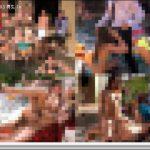 [モ無]<Vol.01393>なんだこの非現実的なプールパーティーは!?超大人数の男女が集まる屋外プールで行われていたのは門外不出の驚愕野外大乱交だった!!そこら中でマ◯コとチ◯コが合体してるwww 3P 洋物 PEWORLD01393